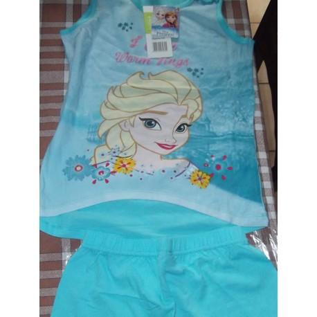 Pyjama court Reine des Neiges