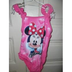 maillot de bain minnie bebe