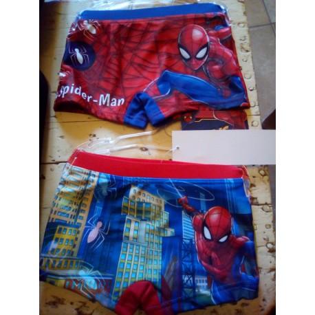 short de bain spiderman